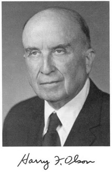 Harry F. Olson
