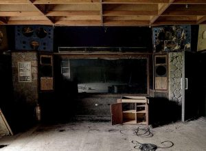 Air Studios in a dilapidated state