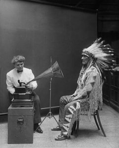 Native American recording