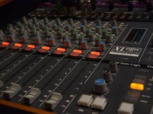 SSL XLogic Superanalogue X-Desk