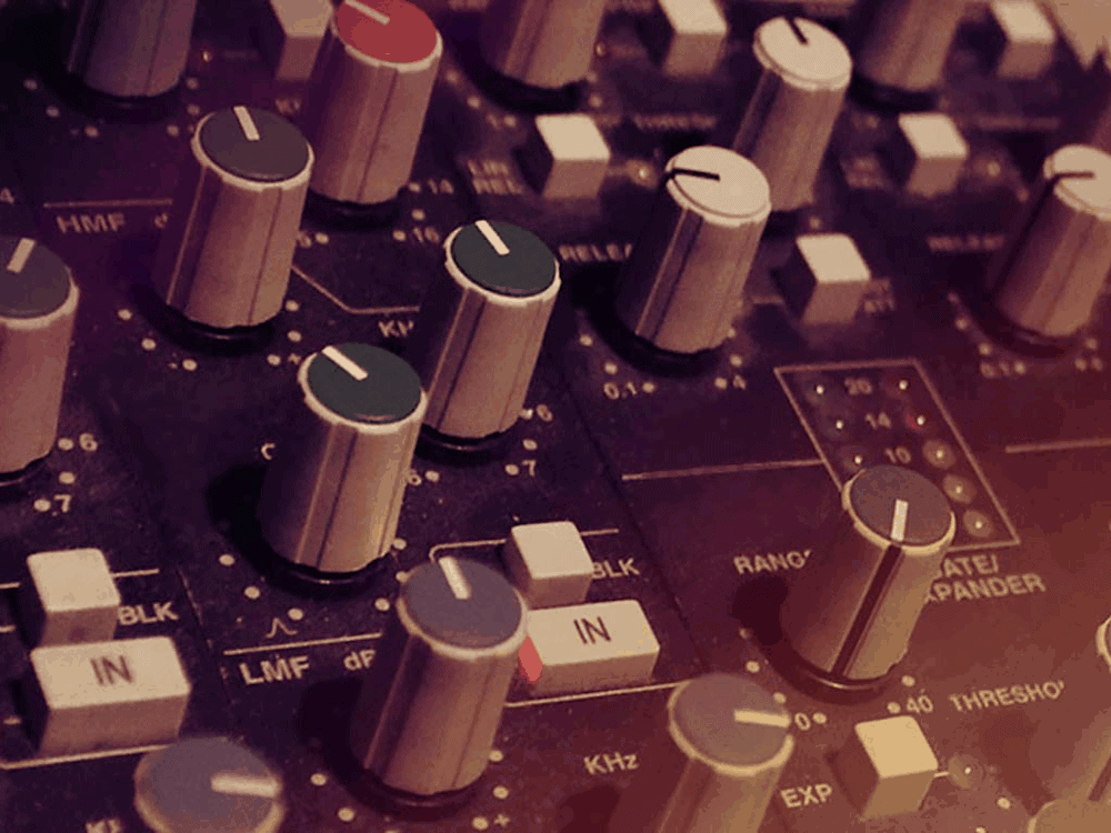 Classic recording consoles: SSL, Neve, and REDD