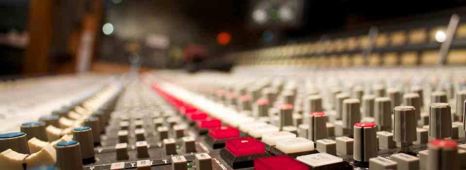 Classic recording consoles SSL, Neve, and REDD