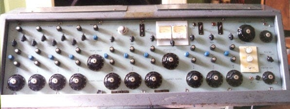 Classic recording console the first ever Neve