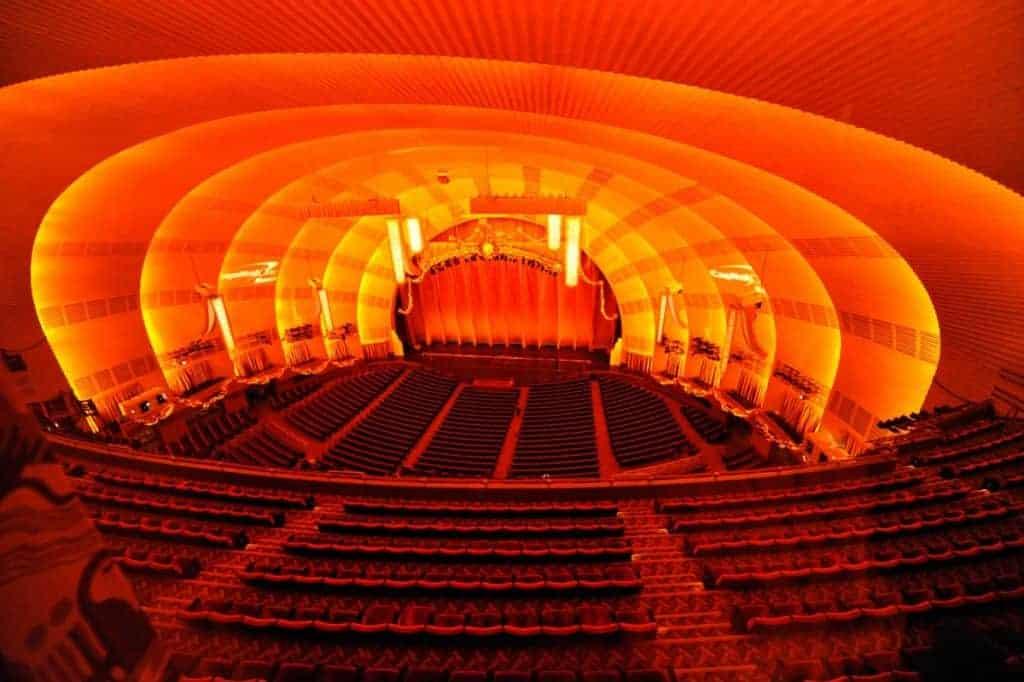 Radio City Music Hall in New York City