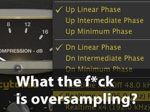 What is oversampling?