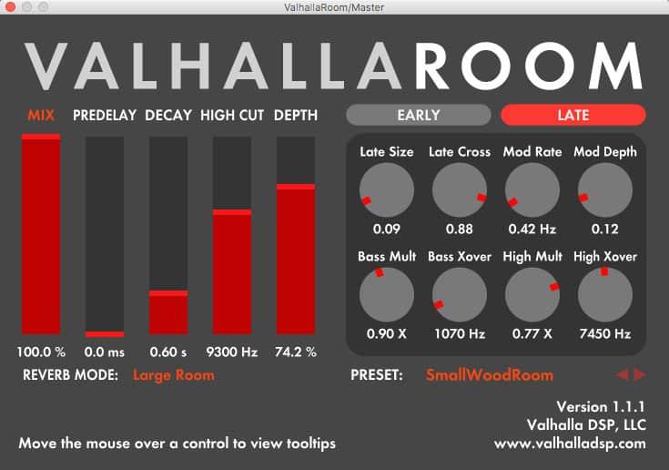Valhalla Room Reverb