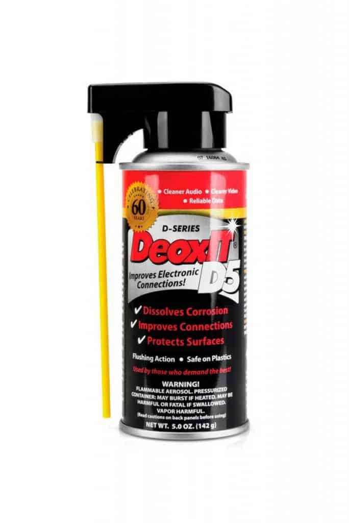 DeoxIT Spray Electronic Contact Cleaner 5 oz.