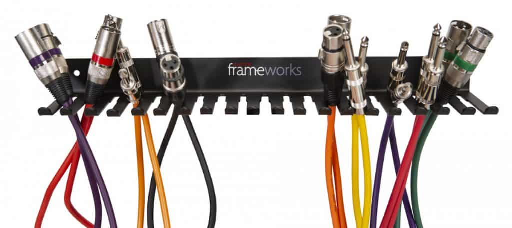Gator Frameworks Wall Mountable Cable Hanger and Organizer