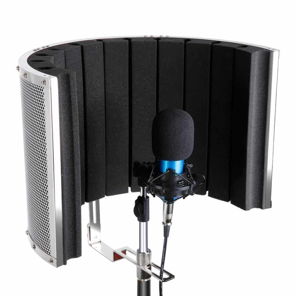 Neewer NW-6 Vocal Booth Microphone Isolation Shield