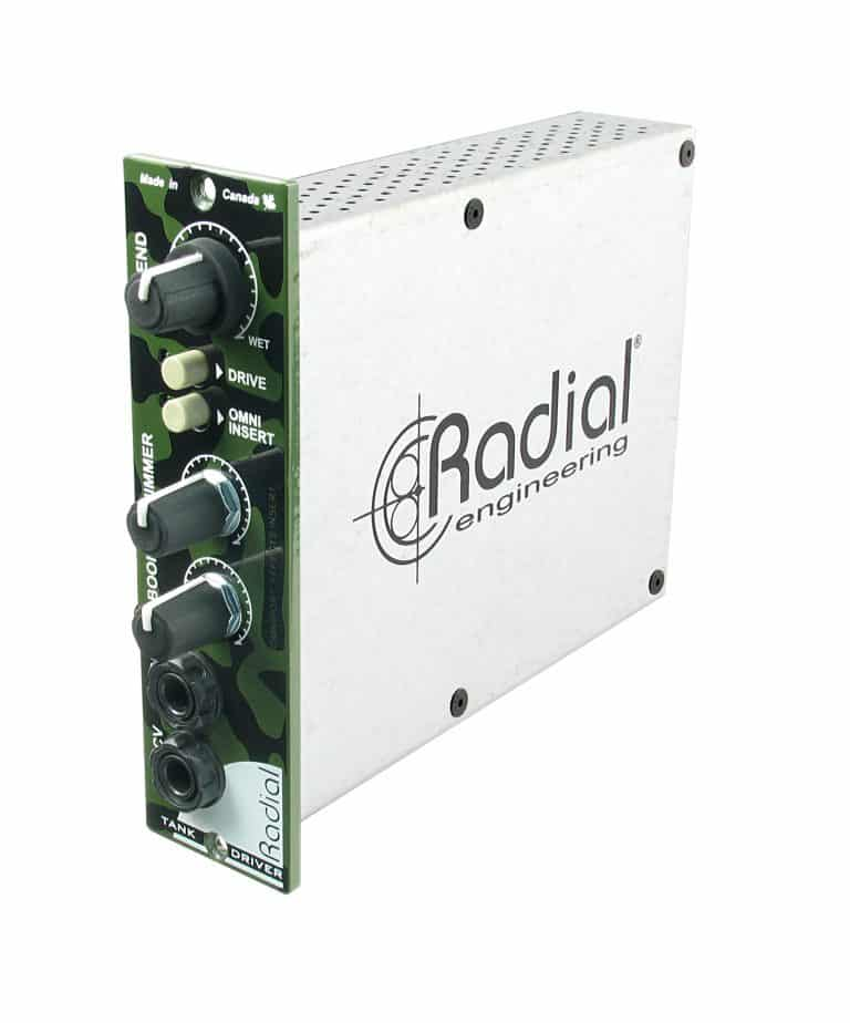 Radial Tank Driver Reverb Interface