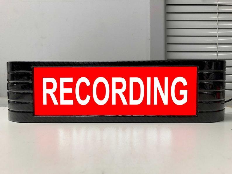 RCA Style Recording Lightbox