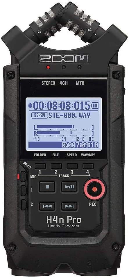 Zoom H4n Pro 4-Track Portable Recorder